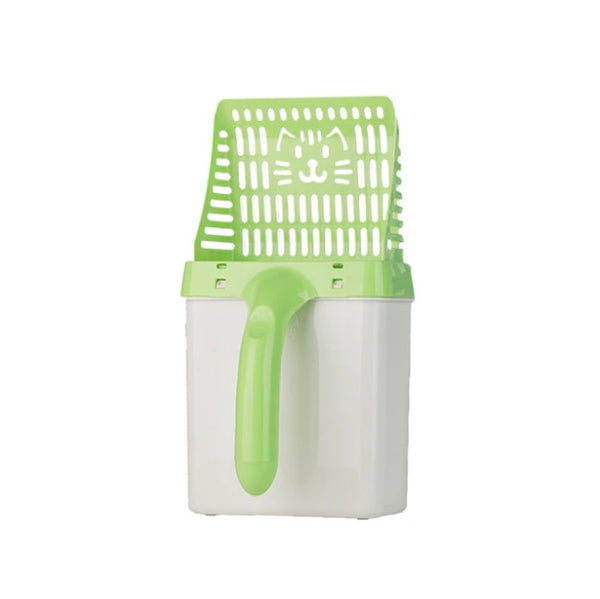 2-in-1 Litter Scoop with Waste Bags