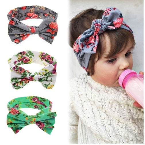 Bow - Baby Girl Headbands