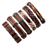 Bracelet - Mens Leather Bracelets