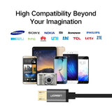 Cable - Micro USB Cable For Samsung Mobile Phones