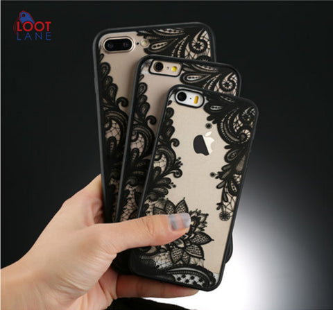 Lace Retro Phone Case For Apple IPhone