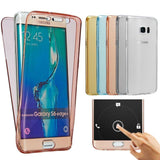 Case - Protective Crystal Clear Touch Cases For Samsung Phones