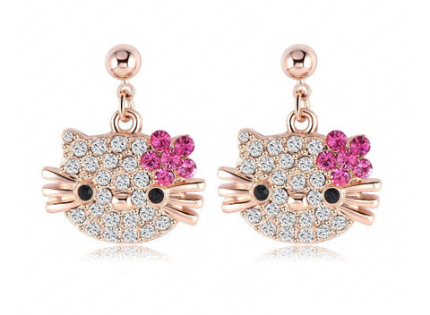 Earings - Cute Kitty Earrings