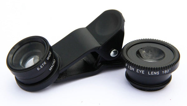 Lens Set - Universal Clip Lens For Mobile Phones
