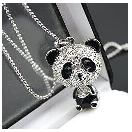 Necklace - Cute Panda Necklace
