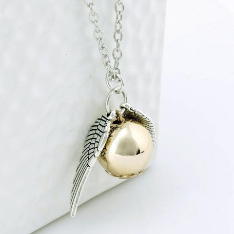 Necklace - Golden Snitch Necklace