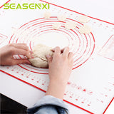 Non-Stick Silicone Baking Pastry Mat with Measurement