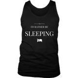 Men's Tees and Tanks I'd Rather Be Sleeping White