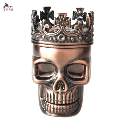 2019 Hot Skull King Metal Herb Grinder