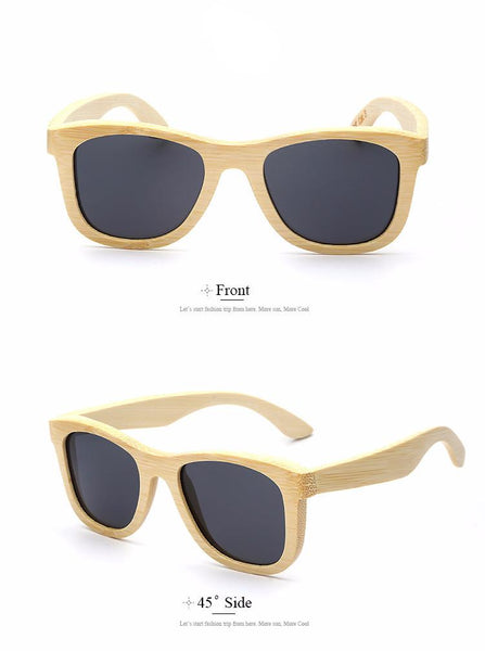 Sunglasses - Handmade Bamboo Sunglasses
