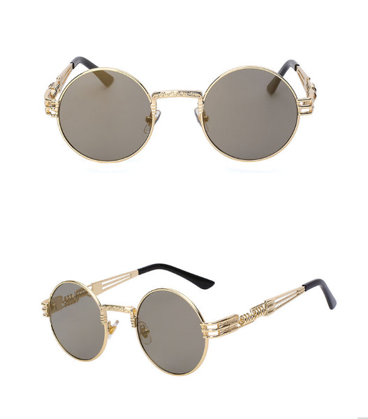 Sunglasses - Round Steampunk Sunglasses