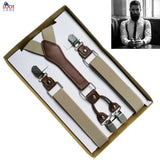 4 Clip Men's Suspenders