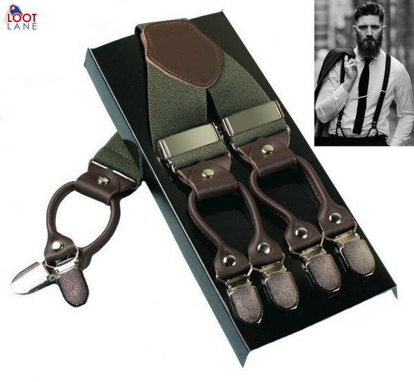 braces for men - mens Vintage Suspenders