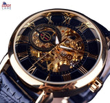 Forsining Skeleton Watch