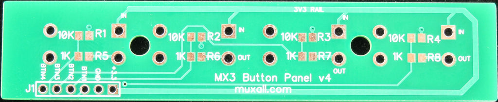 MX3 Four Button PCB v4