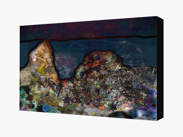Canvas Wall Art Gaia II
