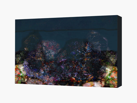 Canvas Wall Art Abstract Landscape Gaia III