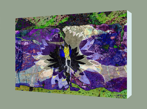 Canvas Wall Art Lotus giclee print on canvas