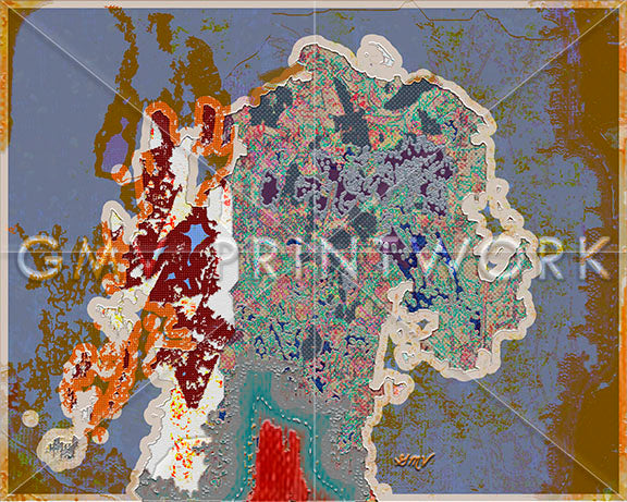 Limited Edition Fine Art Print | Diverse DNA, Mirror | GMV PRINTWORK