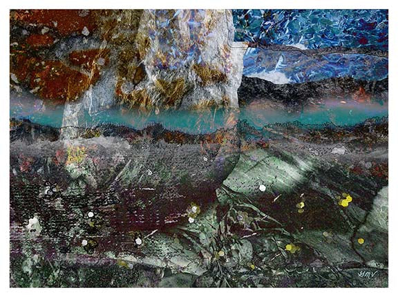 Streaming Fine Art Print GMV PRINTWORK