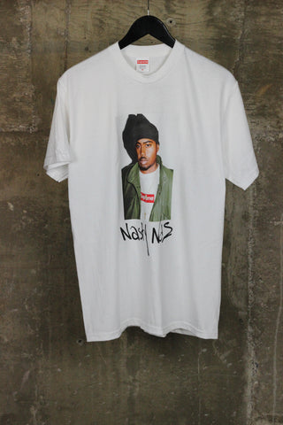 Supreme Nasty Nas Tee White