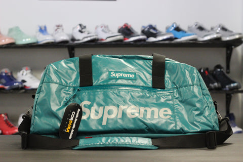Supreme Duffle Bag Teal F/W '17