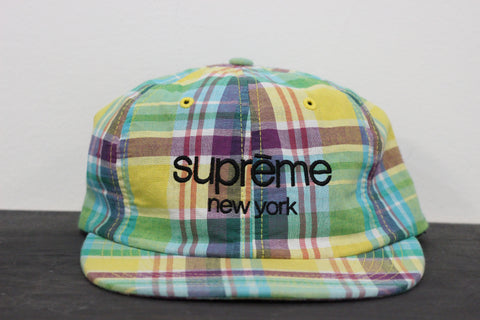 Supreme Madras 6-Panel Hat
