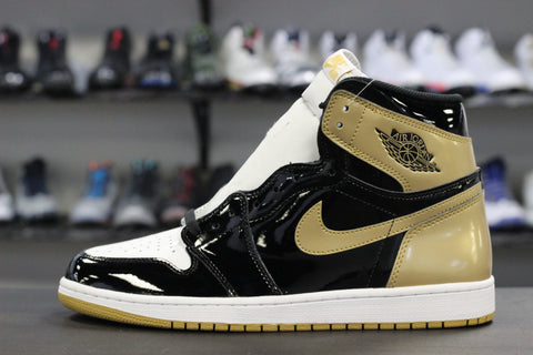 Air Jordan 1 Top 3 Black / Gold