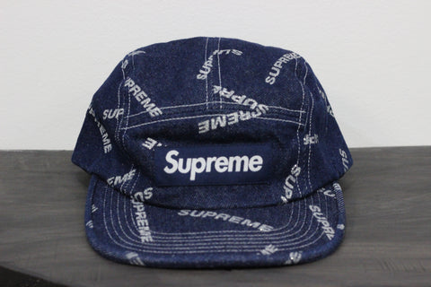 Supreme Denim 3M Cap