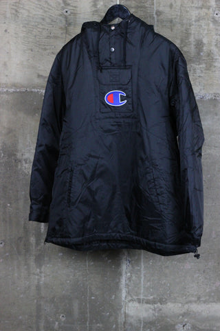 Supreme / Champion Pullover Parka Black