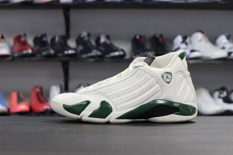 Air Jordan 14 White / Green