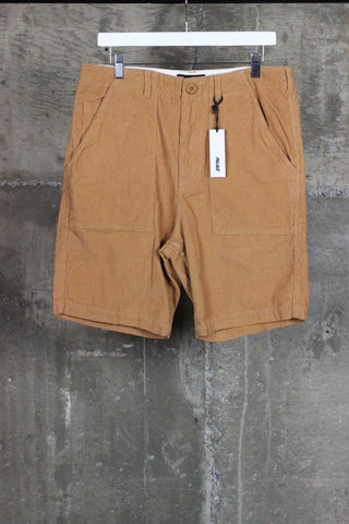 Palace Cord Fatigue Shorts Tan