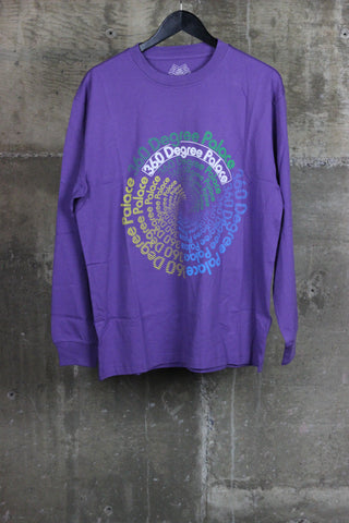 Palace 360 Degree L/S Tee Purple