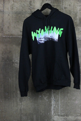 Kanye West Wyoming Merch Hooded Sweatshirt Black