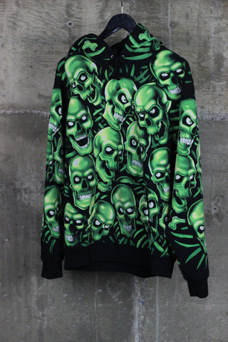 Supreme Skull Pile Hooded Sweatshirt