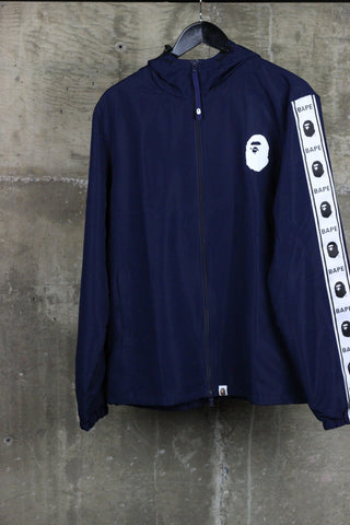 A Bathing Ape Summer Track Jacket Navy