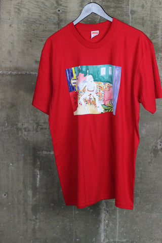 Supreme Bedroom Tee Red