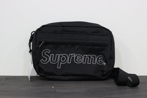 Supreme Shoulder Bag Black FW 18