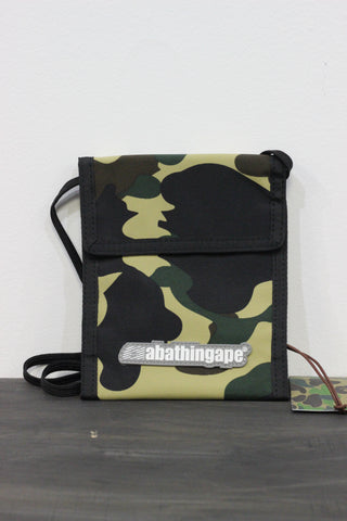 Bape Shoulder Bag Yellow Camo