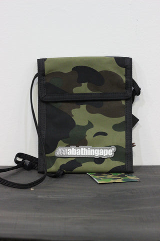Bape Shoulder Bag Green Camo