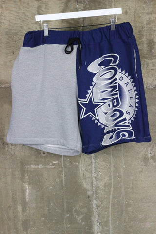 The Gateway District Vintage Reworked Sweat Short Cowboys