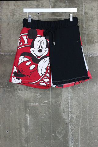 The Gateway District Vintage Reworked Sweat Short Minnie Mouse