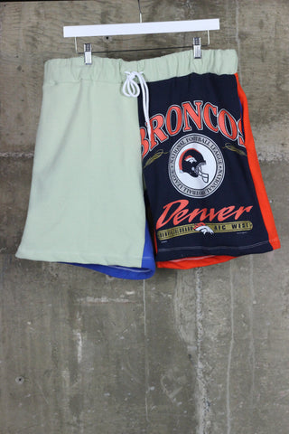 The Gateway District Vintage Reworked Sweat Short Broncos