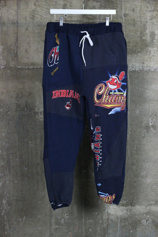 The Gateway District Vintage Patchwork Indians Sweatpant 4