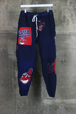 The Gateway District Vintage Patchwork Indians Sweatpant 1