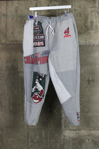 The Gateway District Vintage Patchwork Indians Sweatpant 3