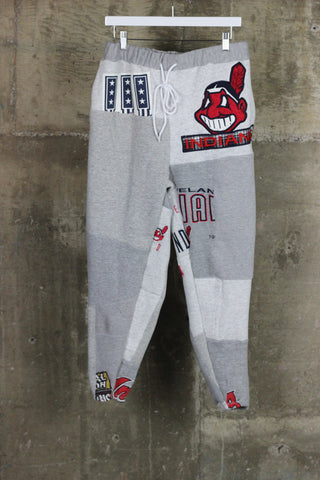 The Gateway District Vintage Patchwork Indians Sweatpant 2