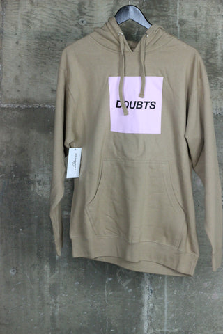 ASSC Doubts Hooded Sweatshirt Brown