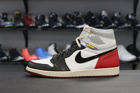 Air Jordan 1 Union LA Black Toe