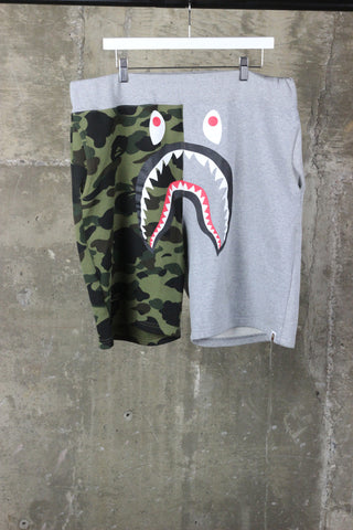 A Bathing Ape Grey/Green Came Short